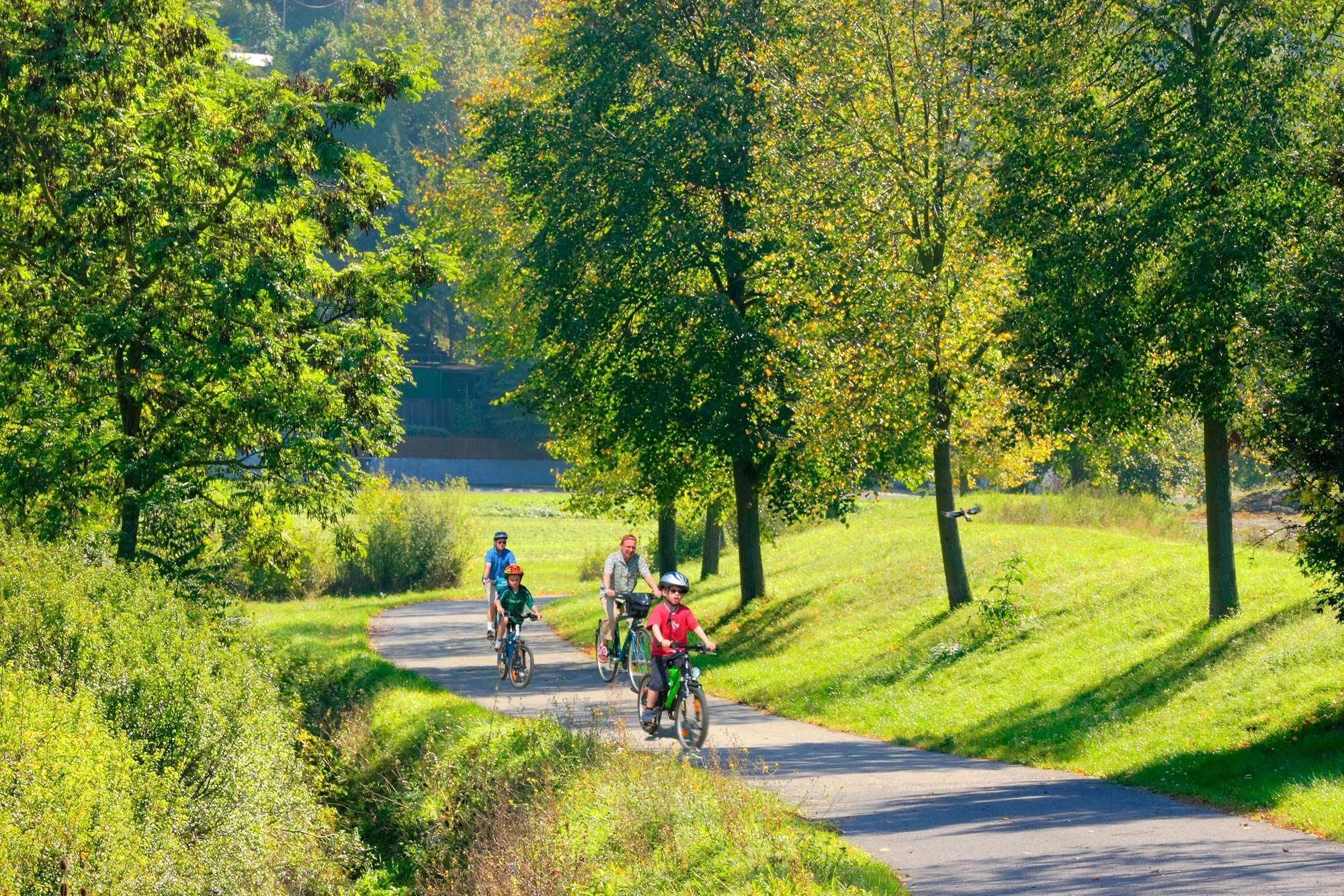 Mehr Radfahrer durch interkommunales Radwegenetz