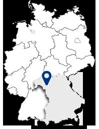 Gemeinde Gerbrunn Karte