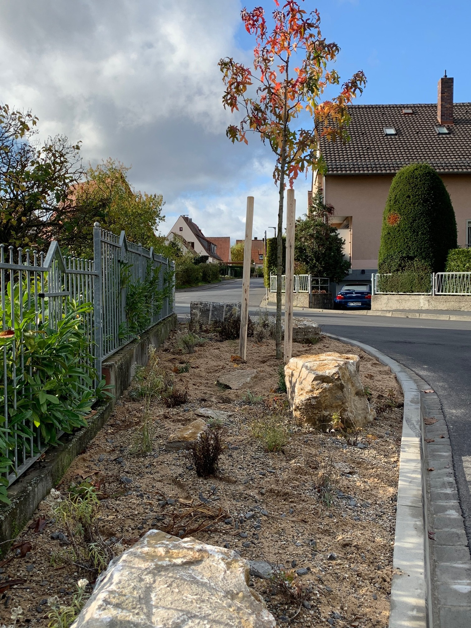 Neue Bäume für Gerbrunn
