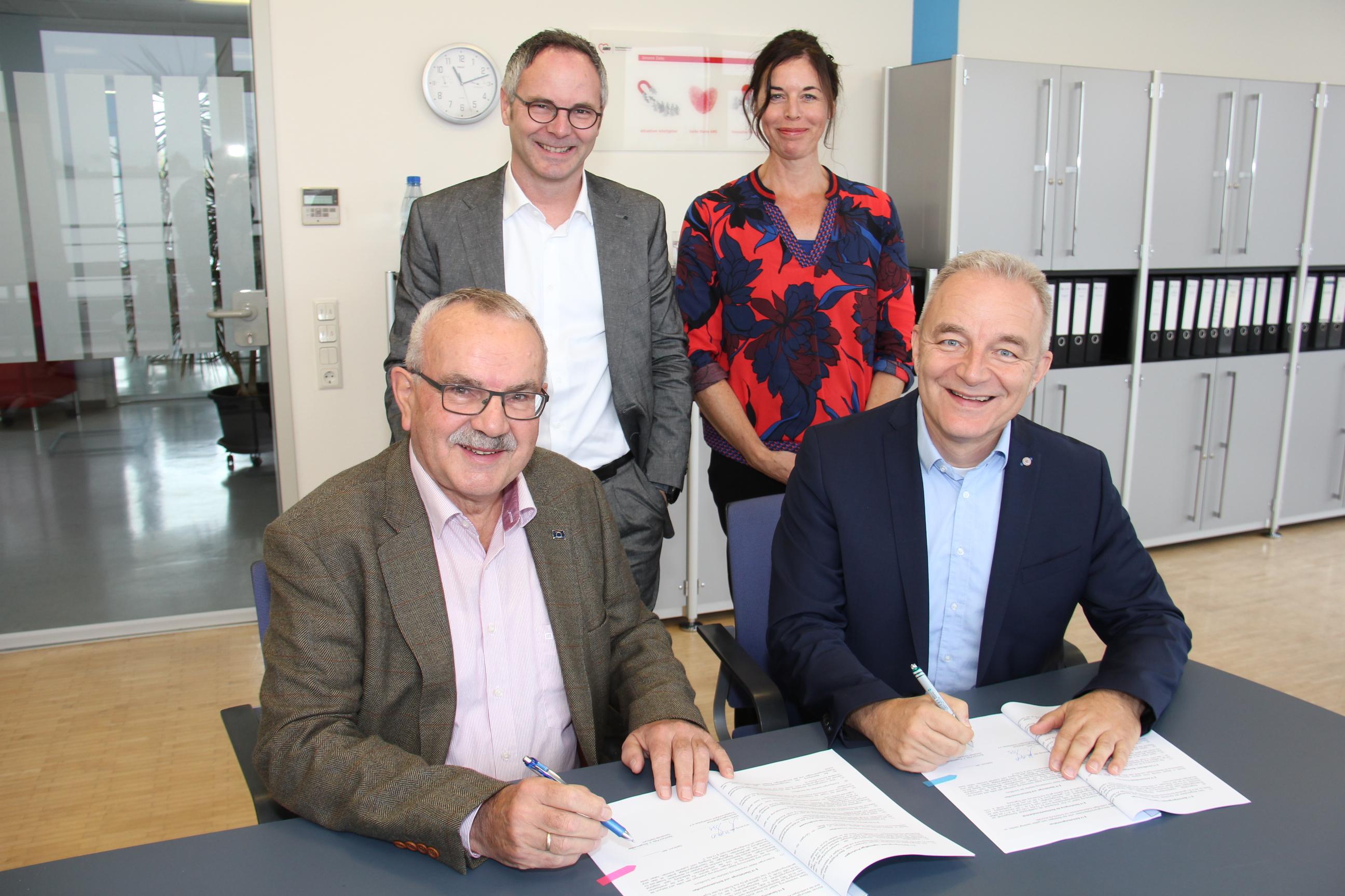 Kooperationsvertrag für den Waldkindergarten Gerbrunn unterzeichnet