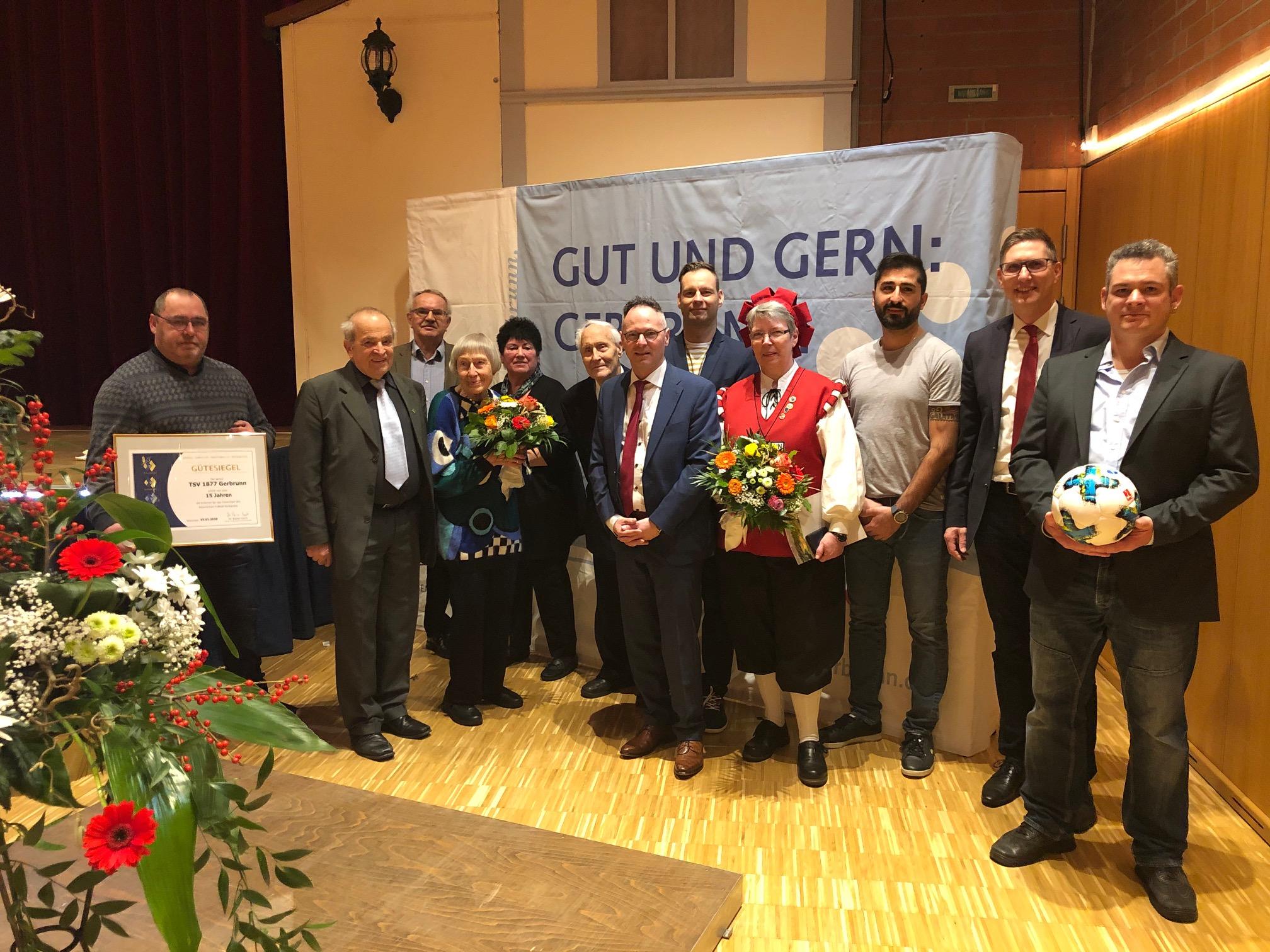 Neujahrsempfang der Gemeinde Gerbrunn