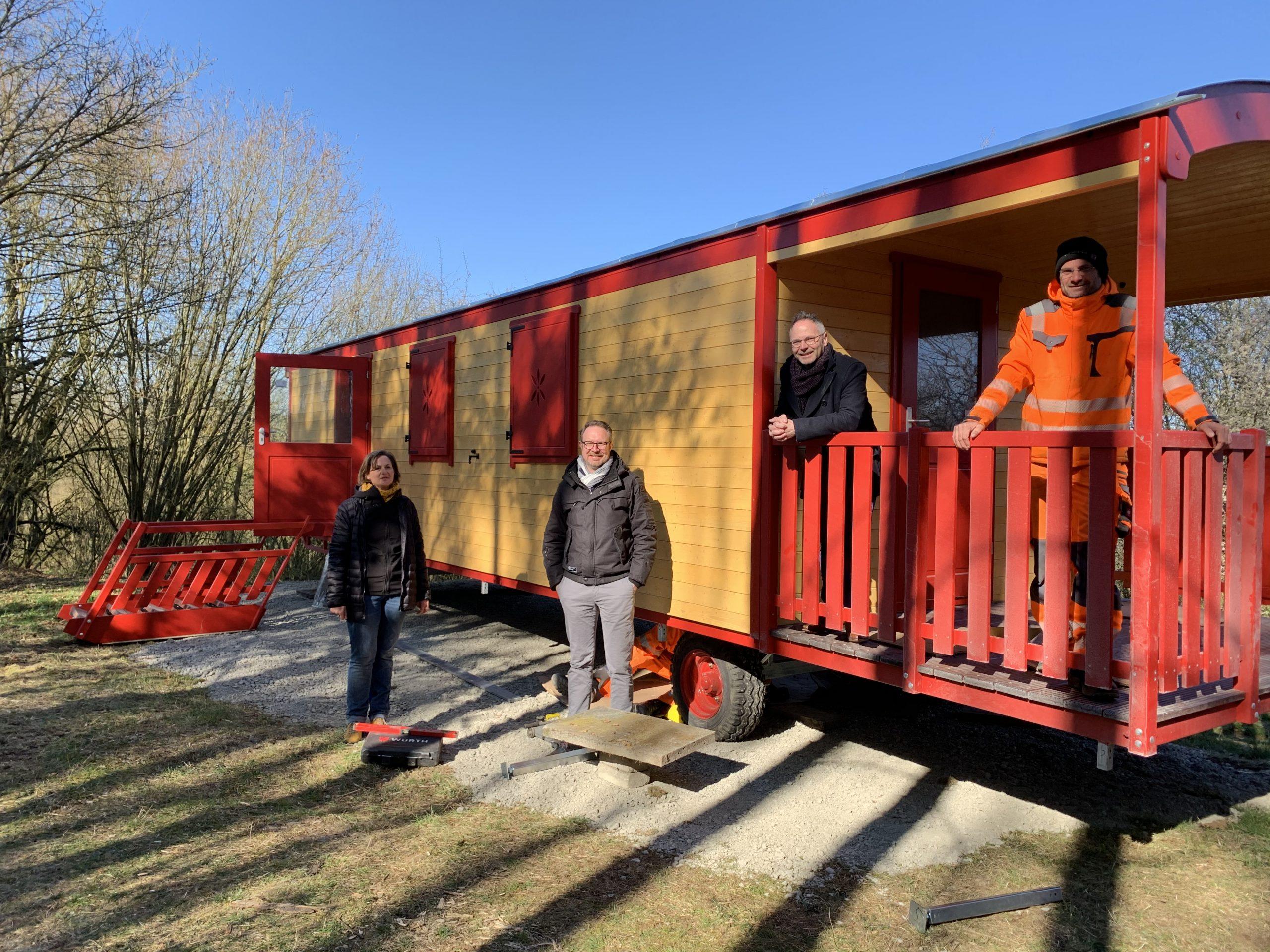Waldkindergartenwagen angekommen – geplanter Start im Mai