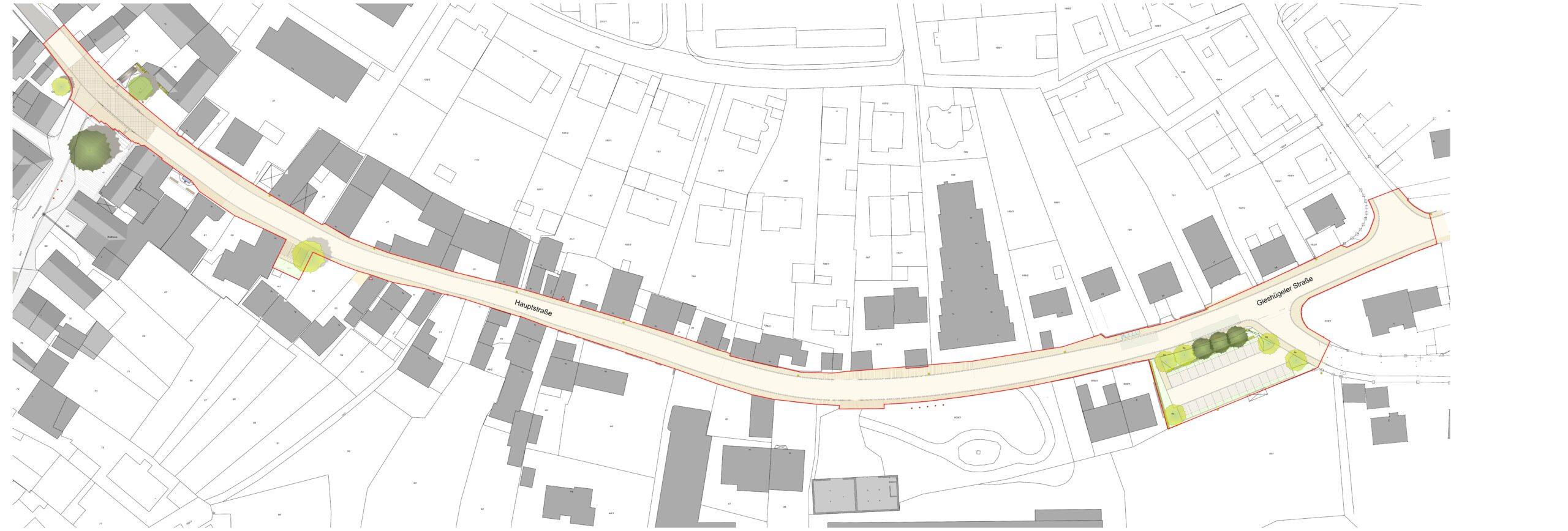 Vollsperrung der Hauptstraße ab 21.09.2020