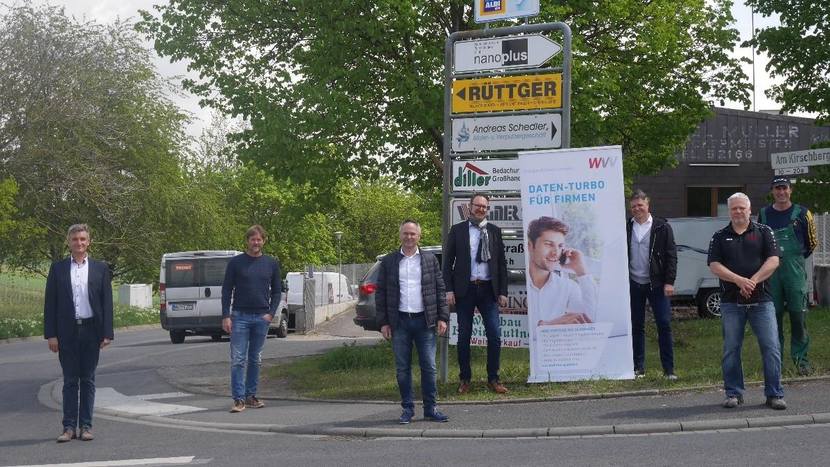 WVV baut Glasfasernetz in Gerbrunn aus
